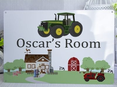 Customised Kids Room Tractor