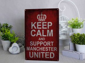 keep calm and support MANCHESTER UNITED